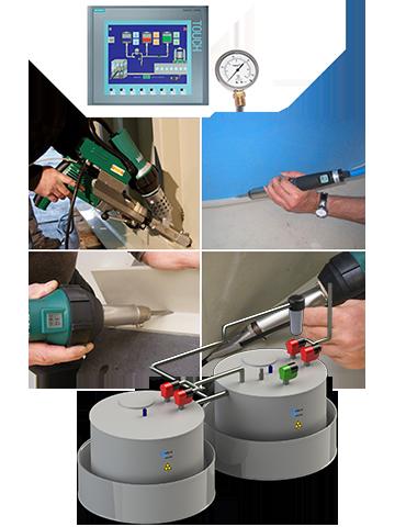 Hot temperature effluent high temperature wastewater