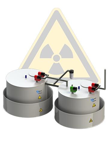 Cuves de décroissance pour Effluents radioactifs
