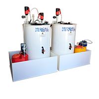 Effluent tank biohazard Medical biohazard wastewater