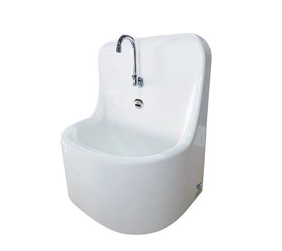 medical scrub sink MEDIO electronic infrared sensor