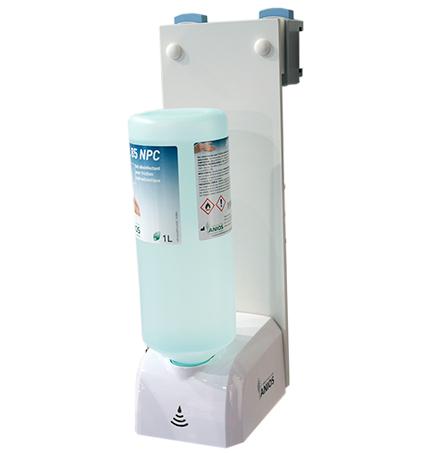 Distributeur automatique de gel hydrolalcoolique et savon doux